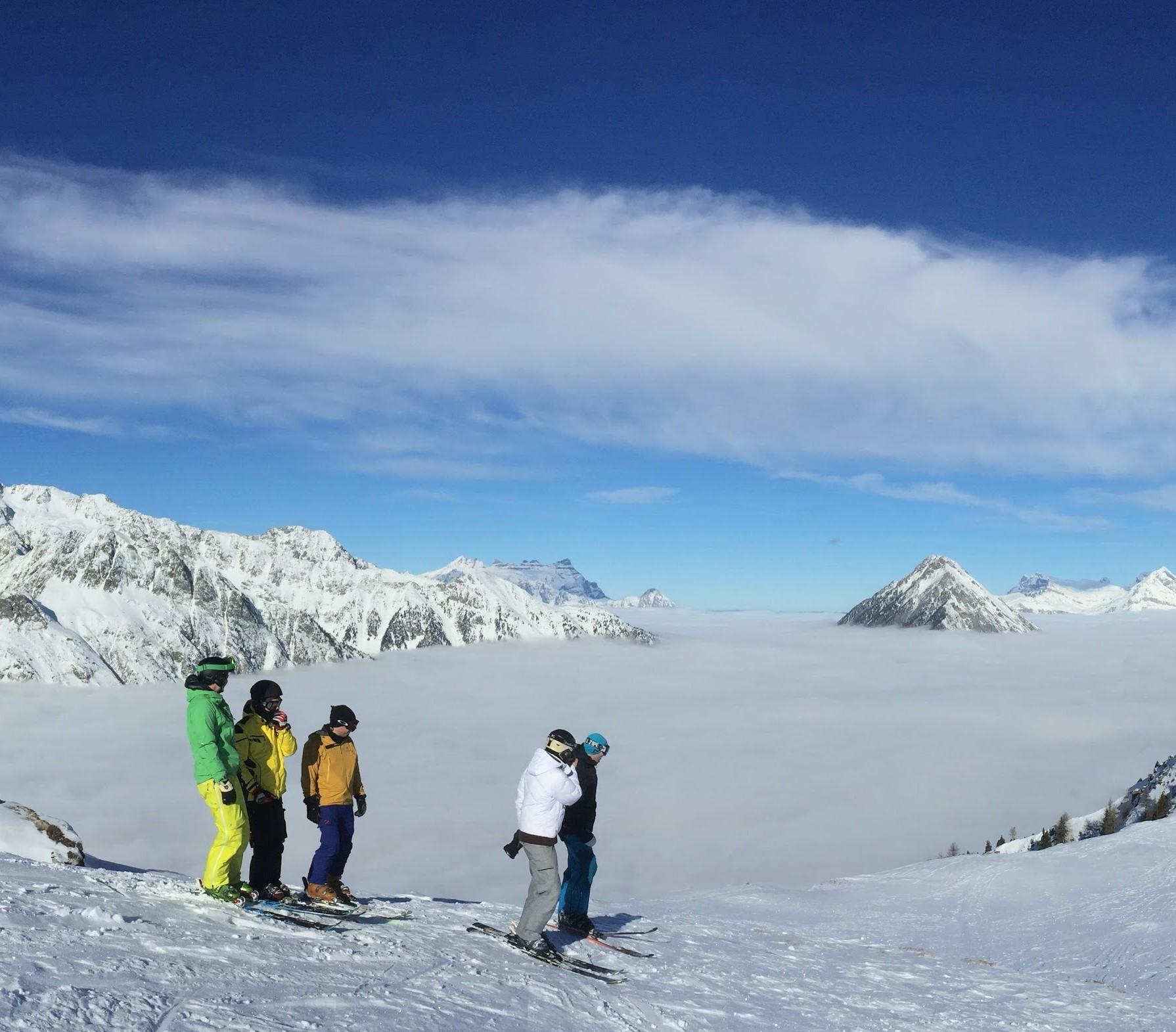 Private Ski lessons Full Day