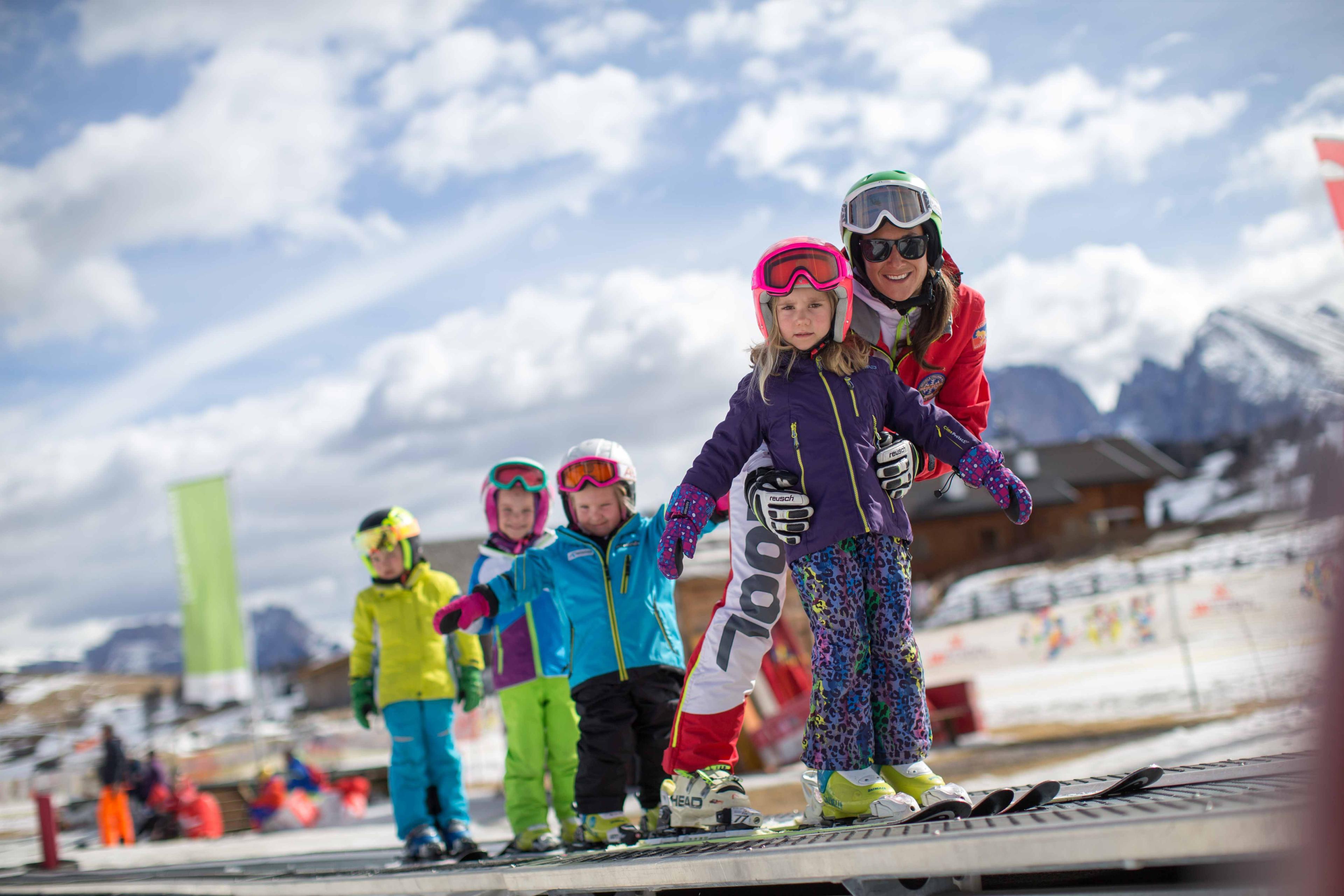 Ski Lessons for Kids (5-7 years) - Intermediate