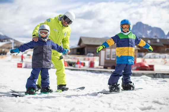 Snowboard Instructor Private - Holidays
