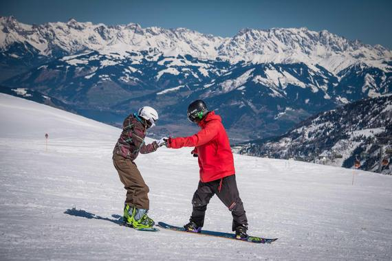 Snowboard Lessons ?Fun Package? (4-15 years) - Advanced