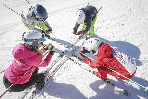 Ski Lessons for Kids (8-14 years) - Advanced