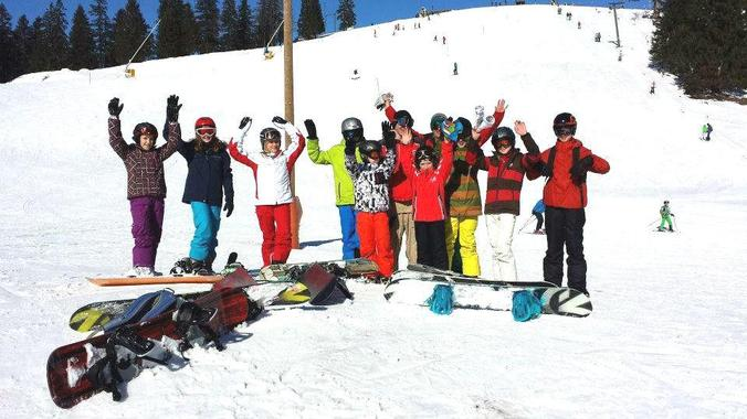 Snowboard Lessons for Kids (5-14 years) - Advanced