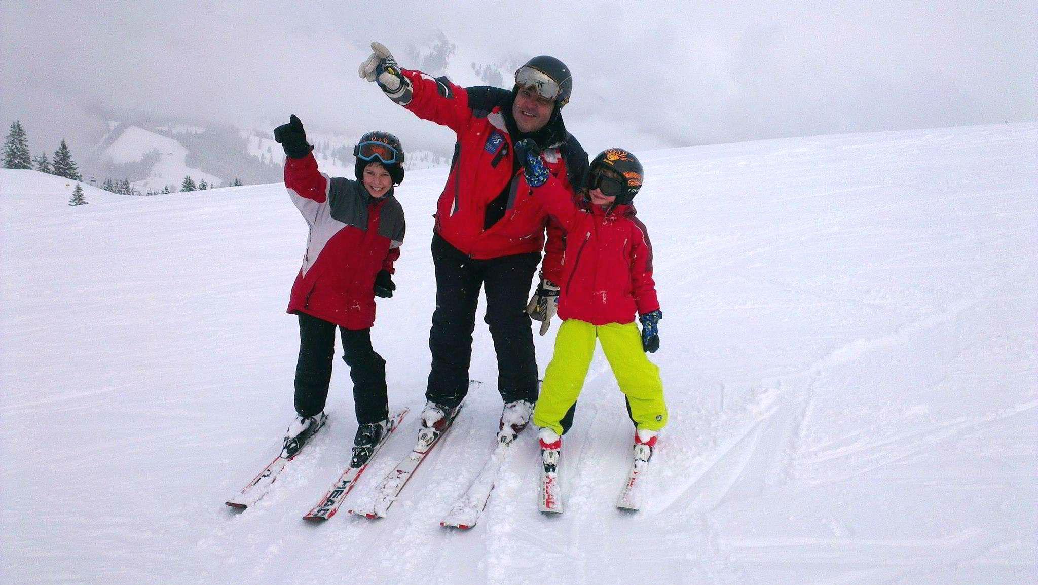 Ski Instructor Private for Kids - Advanced