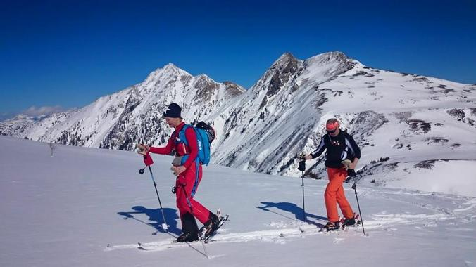 Ski touring for intermediates