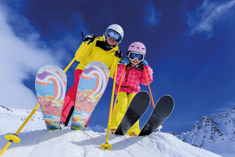 Kids Ski Lessons (4-15 y.) for Advanced Skiers