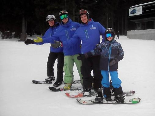 Private Snowboarding Lessons for Families of All Levels