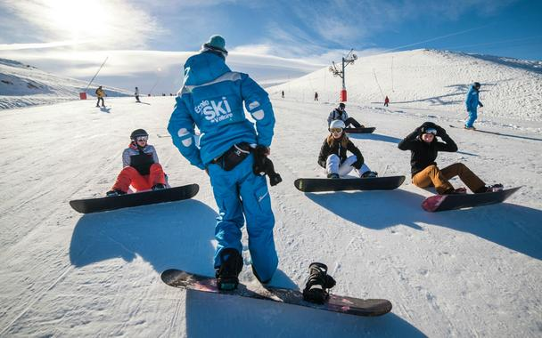 Snowboarding Lessons (from 10 y.) - Holidays