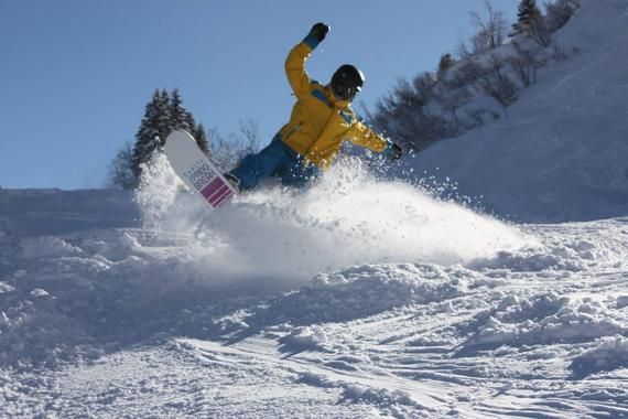 Private Snowboarding Lessons - All Levels & Ages