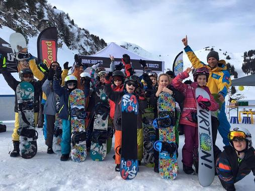 Snowboarding Lessons (5-18 y.) for All Levels