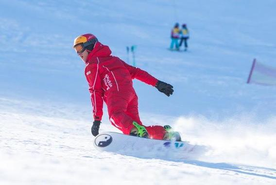 Private Snowboarding Lessons in Kitzbühel