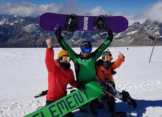 Private Snowboarding Lessons for Kids & Adults