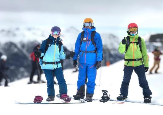Snowboarding Lessons for Adults of All Levels