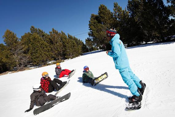 Snowboarding Lessons (from 6 y.) - Holidays