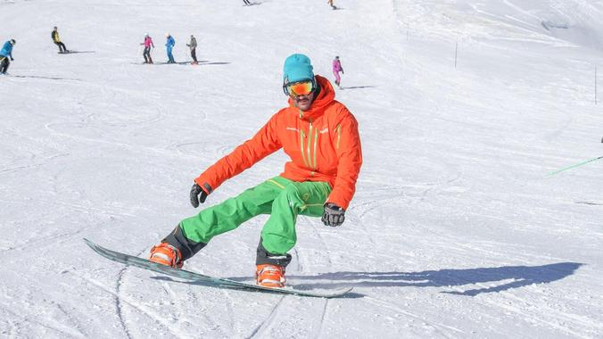Snowboarding Lessons Kids & Adults - Afternoon