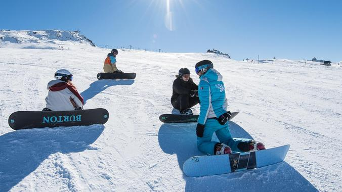 Snowboarding Lessons for Kids (from 7 y.)