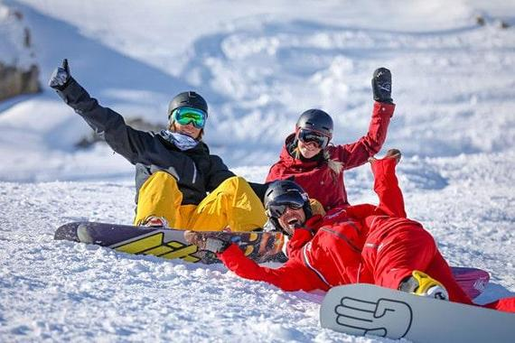Snowboarding Lessons for Teens & Adults - All Levels