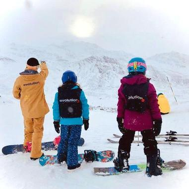 Snowboarding Lessons (from 4 y.) for All Levels