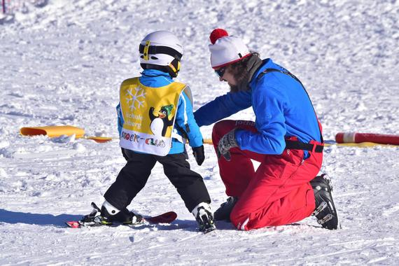 Private Ski Lessons for Kids in Jochberg