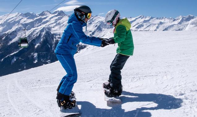 Snowboard Lessons for Kids & Adults - All Levels