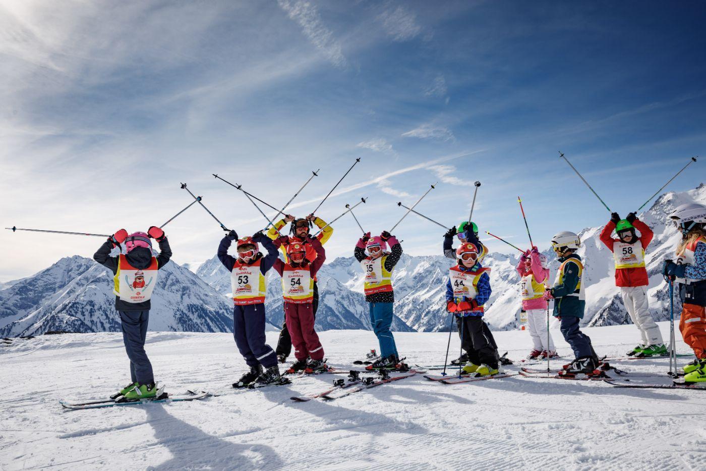 Kids Ski Lessons (4-14 y.) for Advanced Skiers
