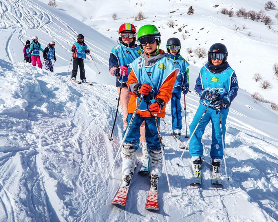 Teen Ski Lessons
