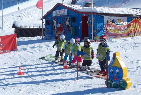 Kids Ski Lessons (3.5-10 y.) for Beginners