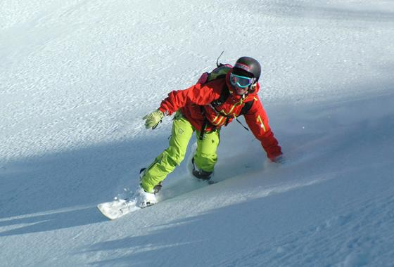 Kids Snowboarding Lessons (6-17 y.) for All Levels