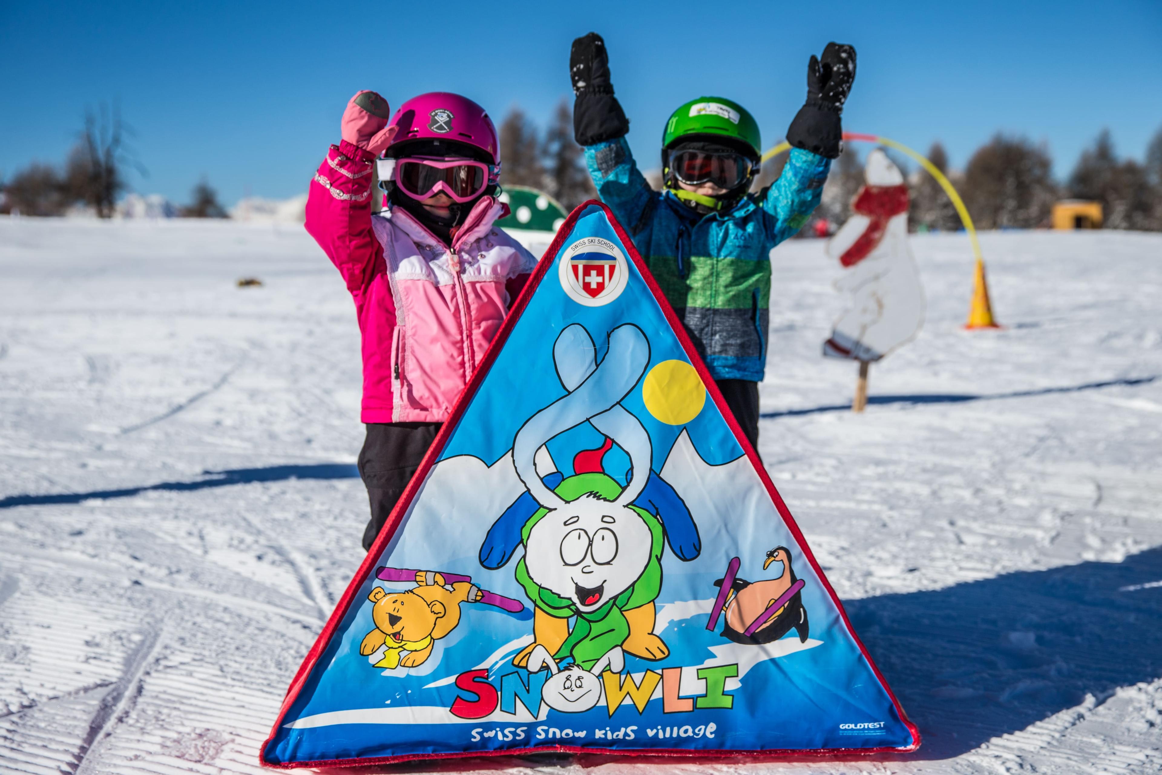 Kids Ski Lessons (3-5 y.) - Half Day