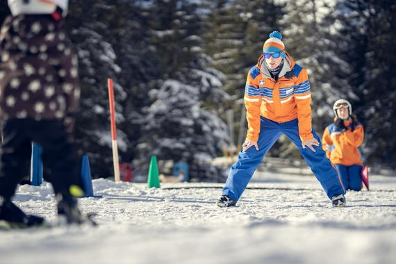 Private Ski Lessons for Kids of All Levels in the Morning