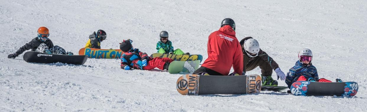 Snowboard Lessons for Kids (4-15 years) - Advanced