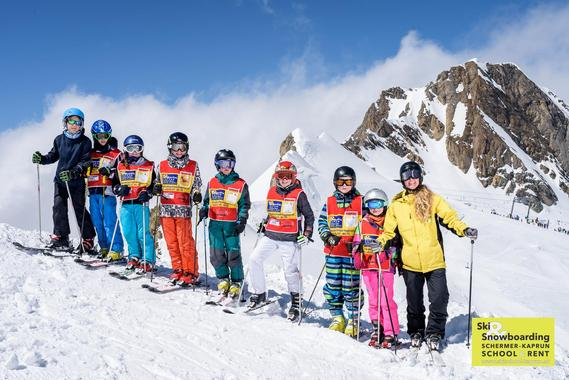 Skiing Lessons for Kids (3-15 years) - Advanced