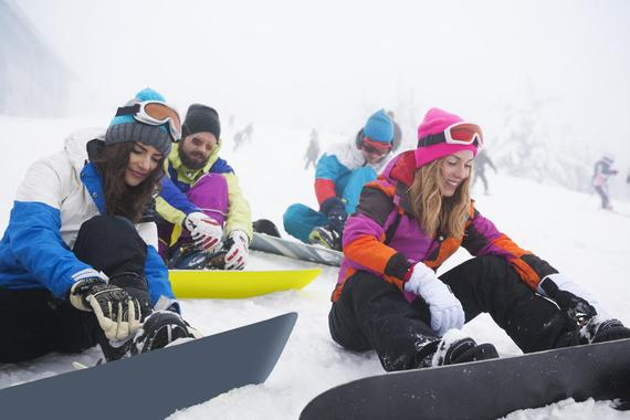 Snowboard Lessons for Adults - Alle Levels
