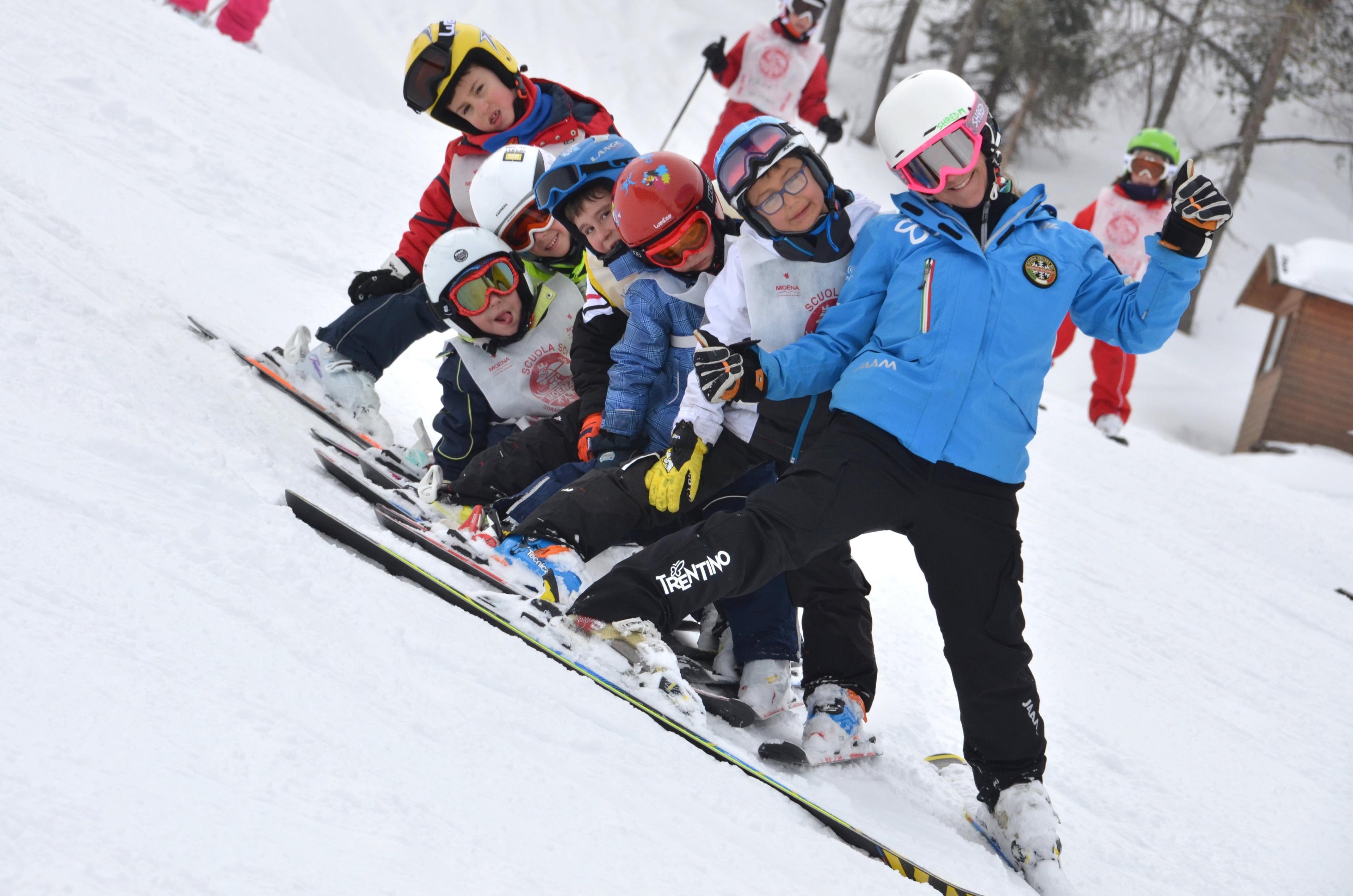 Ski Lessons for Kids (6-14 years) - Low Season - Advanced