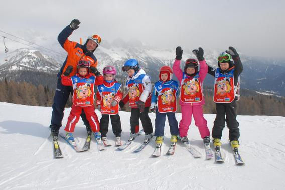 Ski Lessons for Kids (4-12 years) - Holidays - All Levels