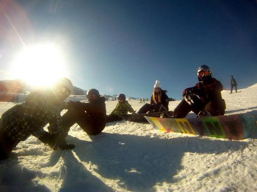 Snowboard Lessons for Kids & Adults (11+ years) - Beginners
