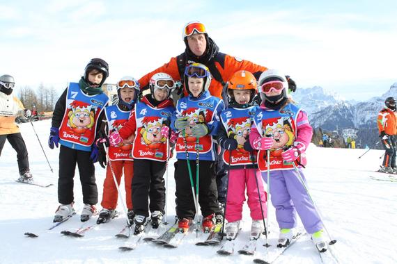 Ski Lessons for Kids (4-12 years) - All Levels