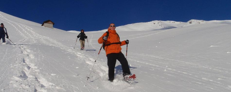 ½-day Snowshoeing Trial Tour