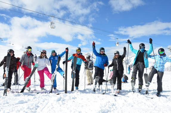 Ski Group Lessons (from 13 years) - Morning - First Timer