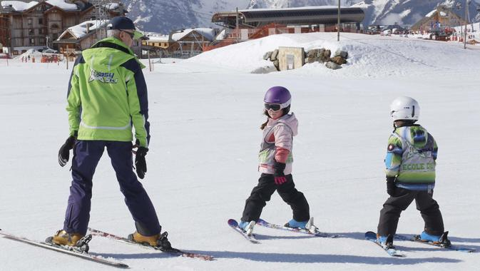 Ski Instructor Private for Kids - Holiday - All Ages