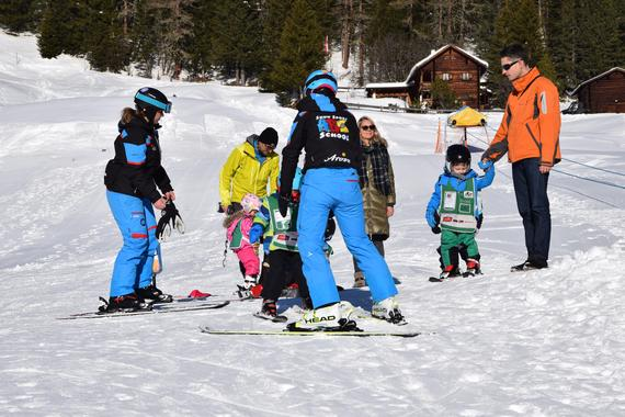 Ski Lessons for Kids (4-6 years) - All Levels