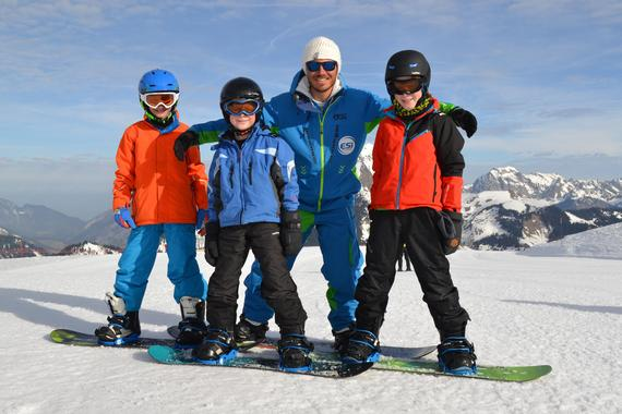 Snowboard Lessons - All Ages & Levels