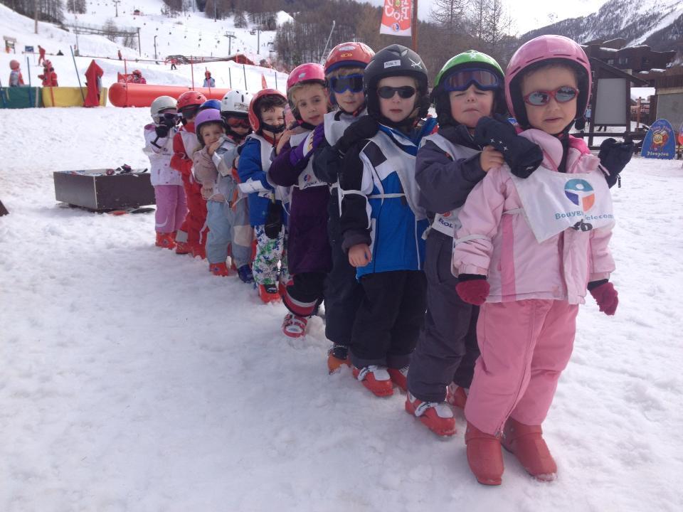Ski Lessons ?Piou Piou? for Kids (3-5 years)