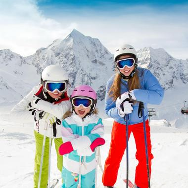 Ski Lessons (5-12 years) - Low Season - All Levels