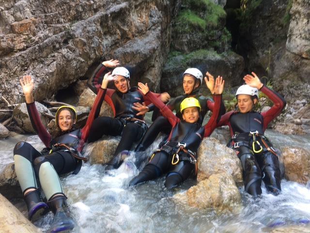 Canyoning Tours Kitzbuhel Kaiserwinkl
