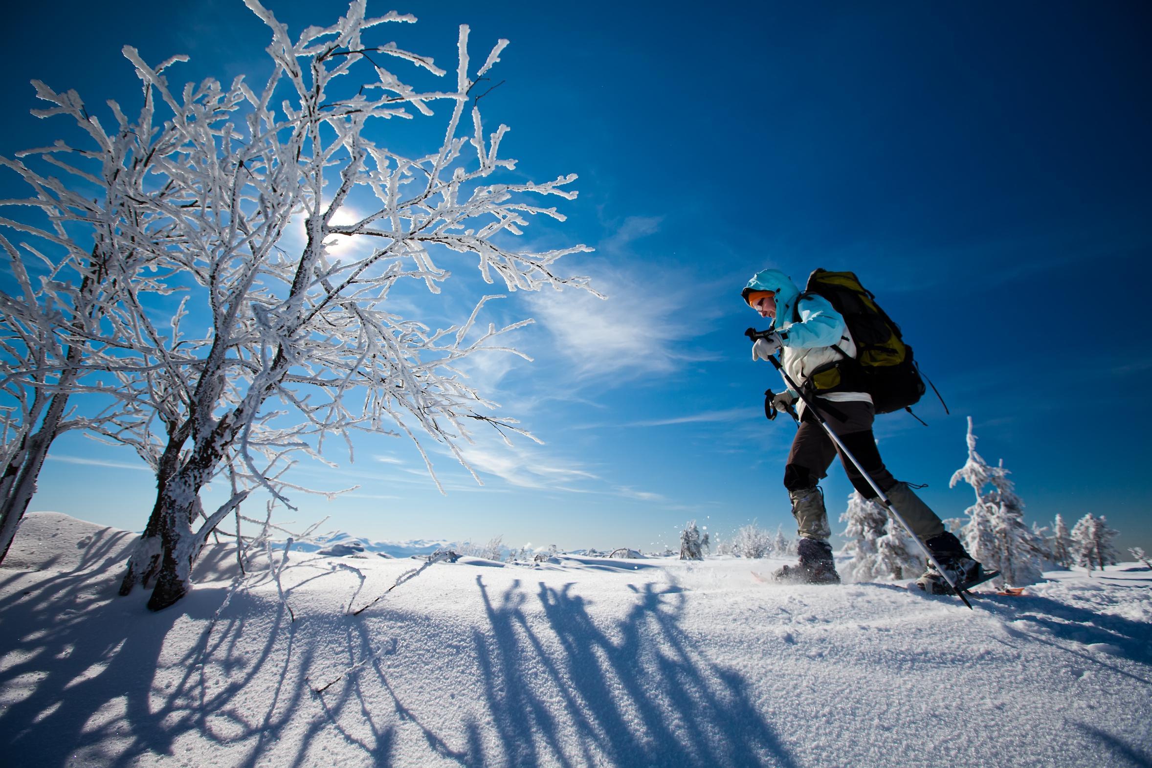Snowshoeing in Davos-Klosters mit Urs