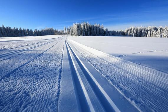 Cross country skiing with your private instructor