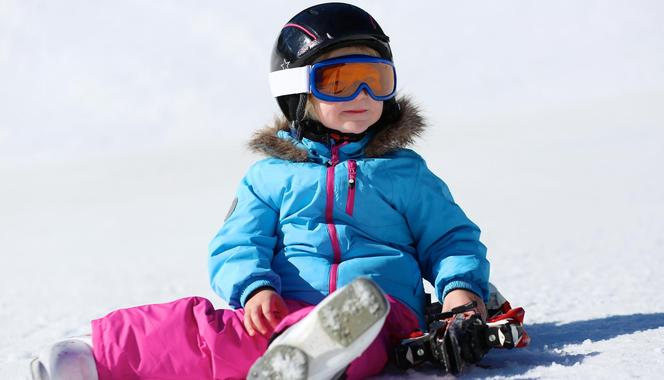 Skiing for kids