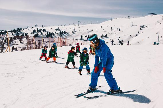 Ski Lessons for Kids (from 4 years) - Advanced