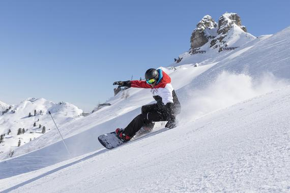 Snowboard Group Lessons for Advanced Boarders (from 9 years)