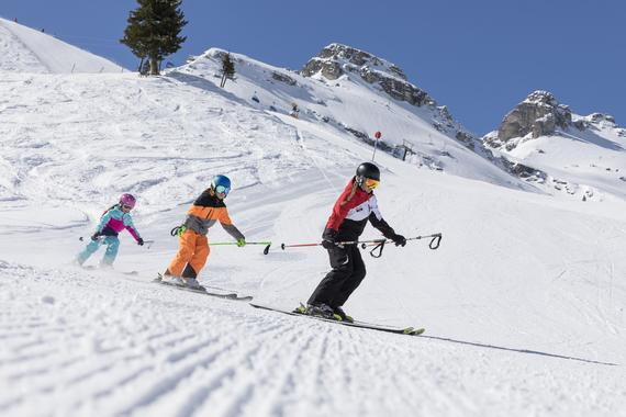 Children's ski courses (from the age of 4) - Advanced